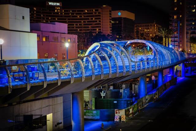 Long Beach Rainbow Bridge